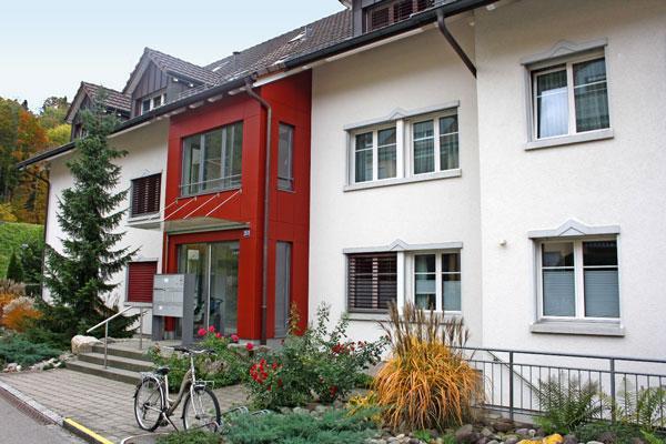 Mehrfamilienhaus in Sennhof, Winterthur.