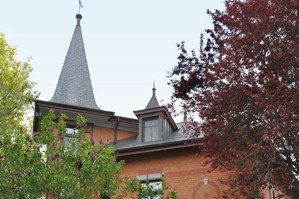 Herrschaftliche Stadtvilla in Winterthur.
